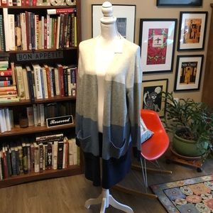 A New Day color block cardigan
